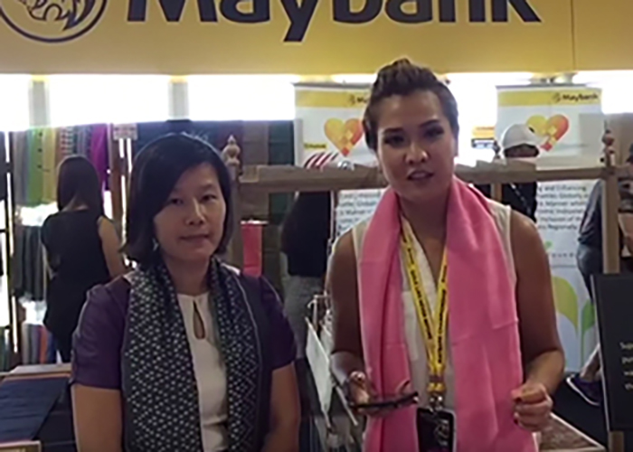 Maybank Women Eco Weavers at Maybank Championship 2017